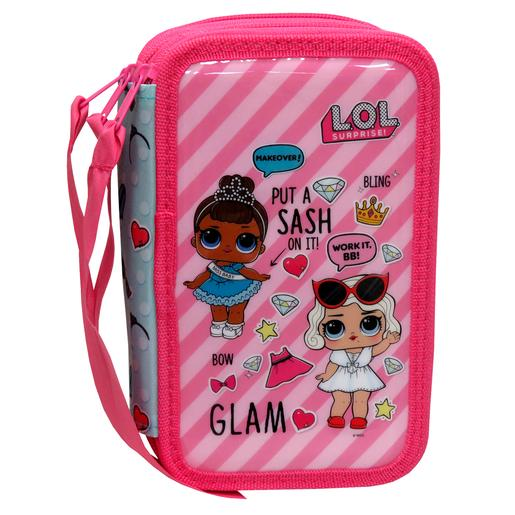 LOL Surprise - Estuche Triple Rosa