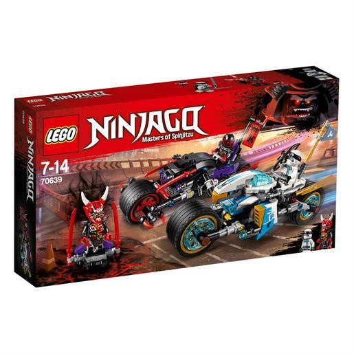 LEGO Ninjago - Carrera Callejera del Jaguar-Serpiente - 70639
