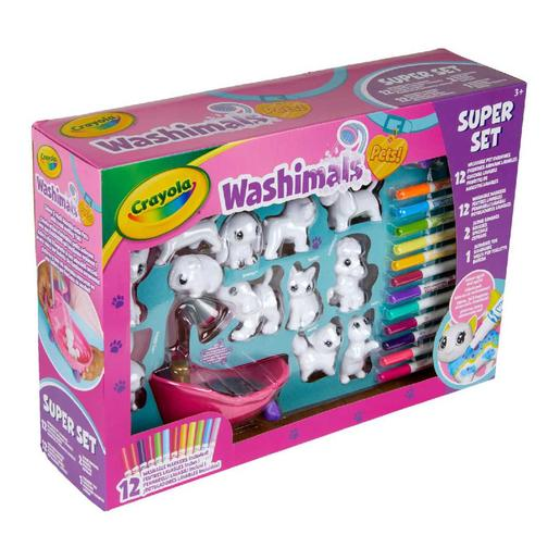 Washimals - Set Mascotas y Bañera