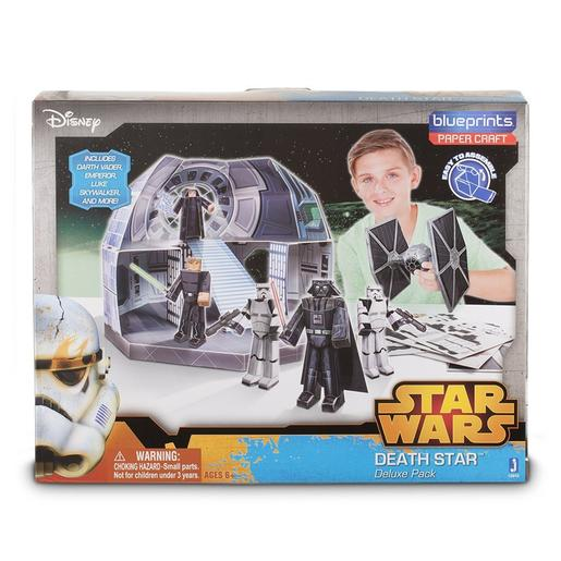 Star Wars - Blueprints - Death Star Deluxe Pack + 90 Piezas