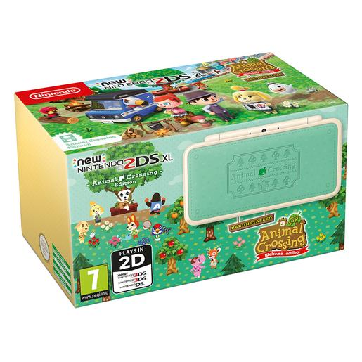 Nintendo - N2DS XL Animal Crossing + Animal New Leaf Welcome Amiibo