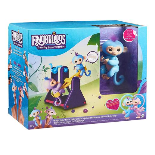Fingerlings - Playset con 2 Monitos