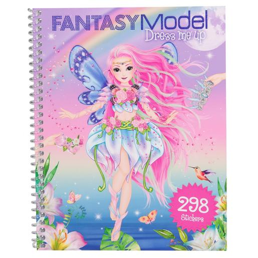 Top Model - Cuaderno de Pegatinas Dress Me Up Fantasy Model