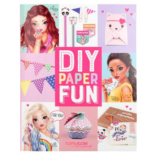 TOP Model - DIY Paper Fun Book