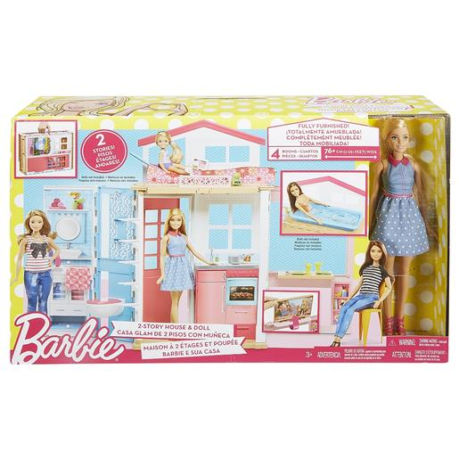 Barbie - Muñeca Barbie y Su Casa