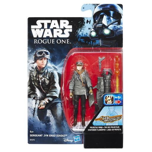Star Wars - Sergeant Jyn Ersa (EADU) - Figura Rogue One 9 cm