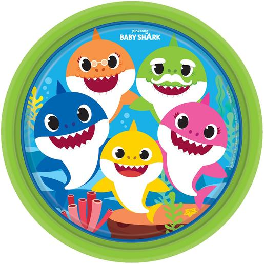 Baby Shark - Pack 8 Platos