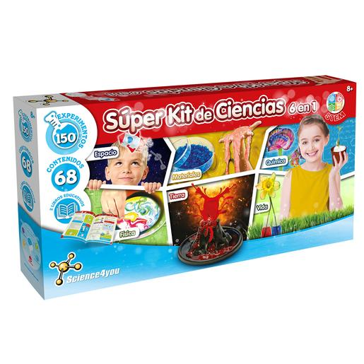 Science4you - Super Kit Ciencias 6 en 1
