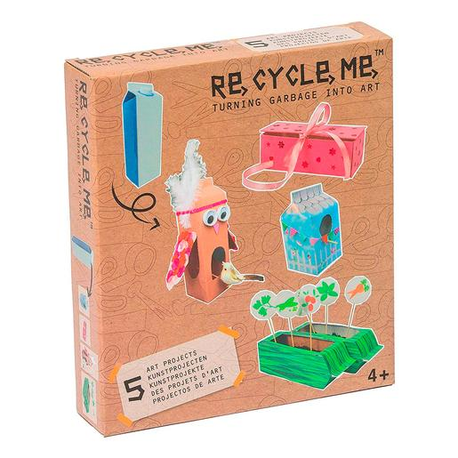 Re-Cycle-Me - Juguetes de Cartón de Leche