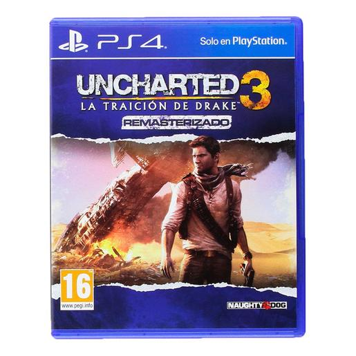 PS4 - Uncharted 3 La Traición de Drake