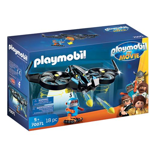 Playmobil - Robotitron con Dron Playmobil The Movie - 70071