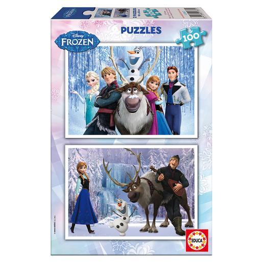 Educa Borras - Frozen - Puzzle 2X100