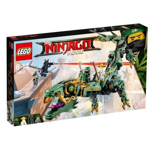 Lego Ninjago - Dragón mecánico del Ninja Verde