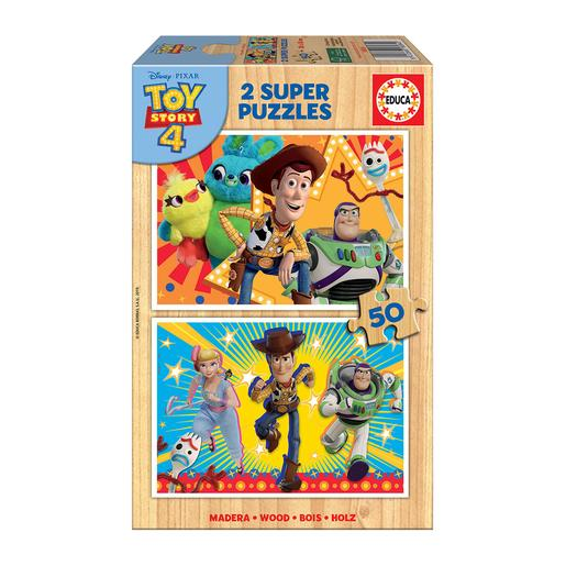 Educa Borrás - Toy Story - Pack Puzzles 2x50 Piezas Toy Story 4