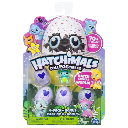 Hatchimals - Colleggtibles Pack 4 Figuras (varios modelos)