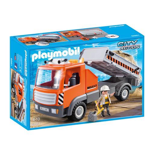 Playmobil - Camión Contenedor - 6861