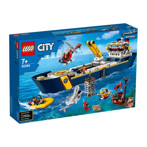 LEGO City - Buque de exploración (60266)