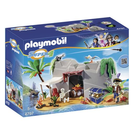 Playmobil - Cueva Pirata - 4797