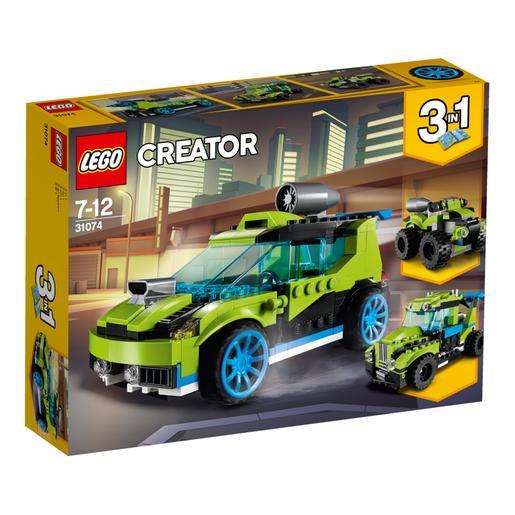 LEGO Creator - Coche de Rally a Reacción - 31074