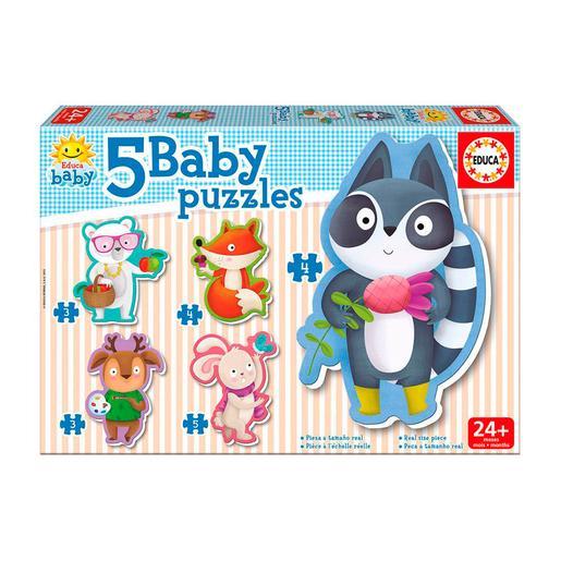 Educa Borrás - Animalitos - Baby Puzzle