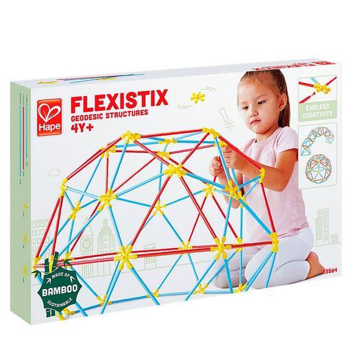 Hape - Juego de Construcción Flexistick Estructuras Geodésicas
