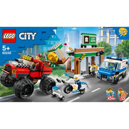 LEGO City - Policía: Atraco del Monster Truck - 60245