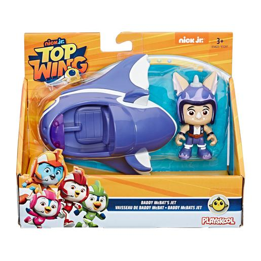 Playskool - Top Wing Baddy - Figura y Vehículo