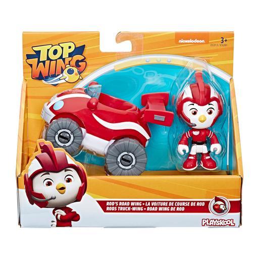 Playskool - Top Wing Rod - Figura y Vehículo
