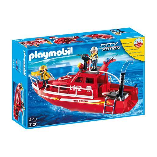 Playmobil - Yate Bombero - 3128