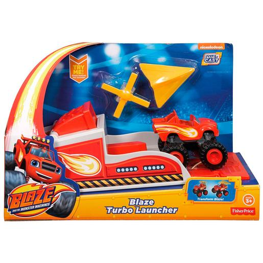 Fisher Price - Blaze y los Monster Machines - Blaze Turbolanzador