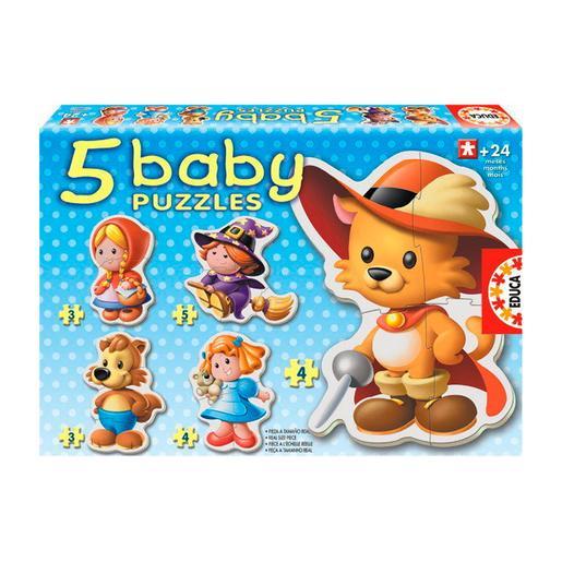 Educa Borrás - Juguetes - Baby Puzzle