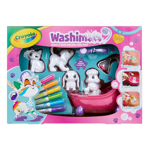 Washimals - Set Bañera y 4 Mascotas