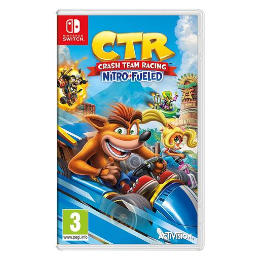 Nintendo Switch - Crash Team Racing Nitro Fueled