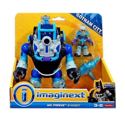 Fisher Price - Imaginext DC - Mr. Freeze y Robot