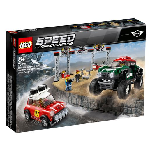 LEGO Speed Champions - Mini Cooper S Rally de 1967 y MINI John Cooper Works Buggy de 2018 - 75894