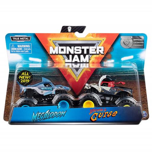 Monster Jam - Pack Doble 1:64 (varios modelos)