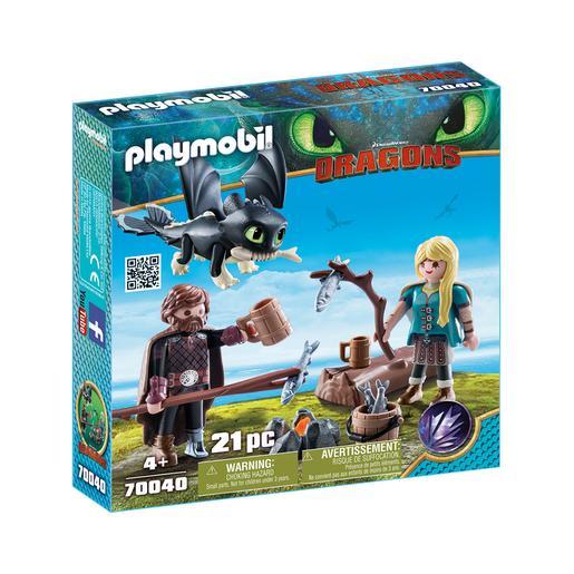 Playmobil - Hipo y Astrid - 70040