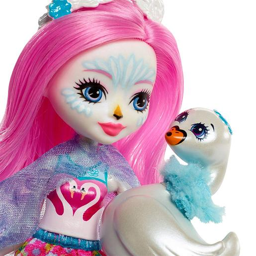 Enchantimals - Siffi Swan - Muñeca y Mascota