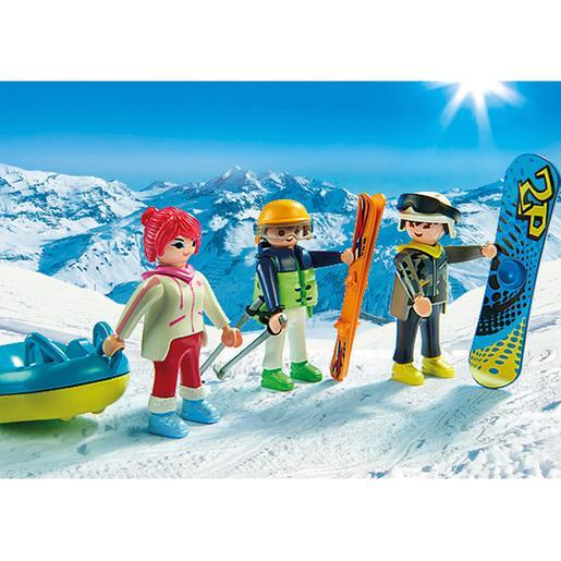 Playmobil - Deportes de Invierno - 9286