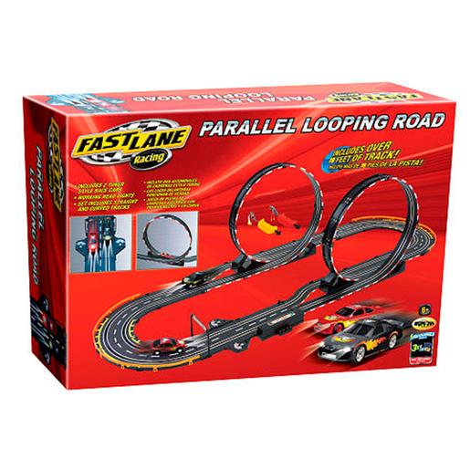 Fast Lane - Pista Looping Doble Paralelos