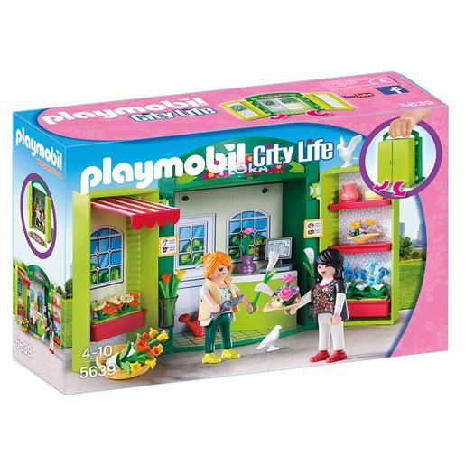 Playmobil - Cofre Tienda de Flores - 5639