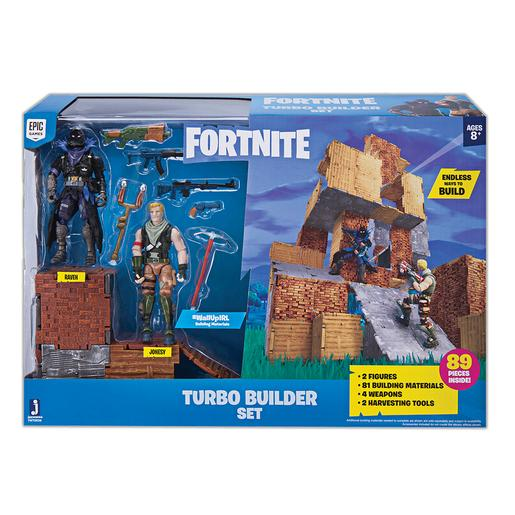 Fortnite - Set Turbo Builder Jonesty y Raven