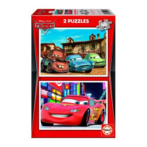 Educa Borrás - Cars 2 - Puzzle 2x48 Piezas