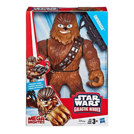 Star Wars - Chewbacca - Galactic Heroes Mega Mighties
