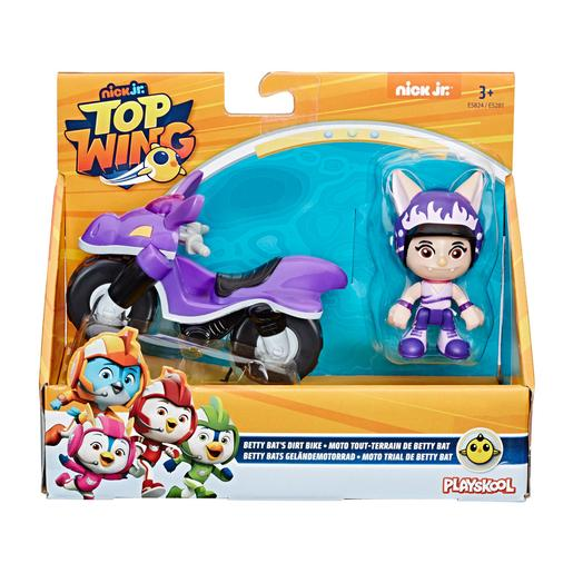 Playskool - Top Wing Betty - Figura y Moto