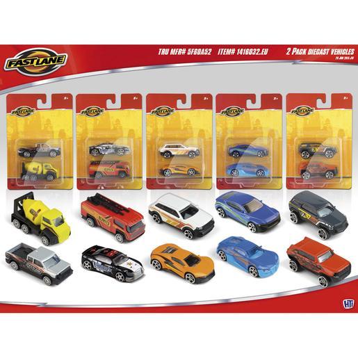 Fast Lane - Pack 2 Vehículos (varios modelos)