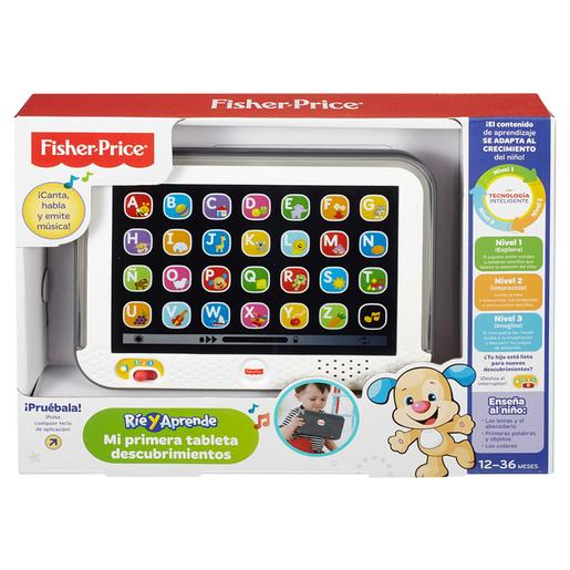 Fisher Price - Mi Primera Tableta (varios colores)