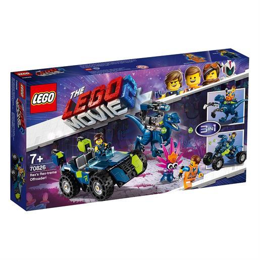 LEGO La Película 2 - Todoterreno Rextremo de Rex - 70826