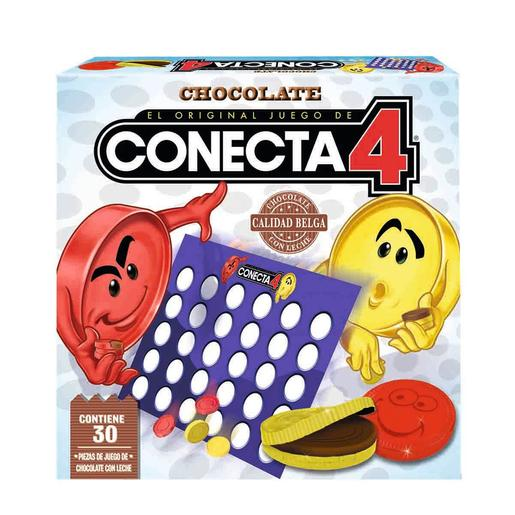 Conecta 4 de chocolate