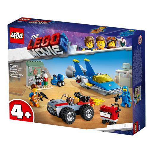 LEGO La Película 2 - Taller Construye y Arregla de Emmet y Benny - 70821